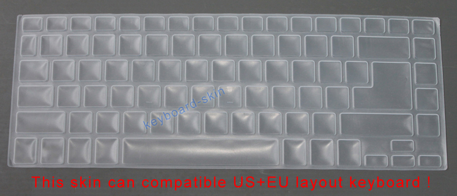Keyboard Skin Cover Protector For Acer Aspire E14 E5 411