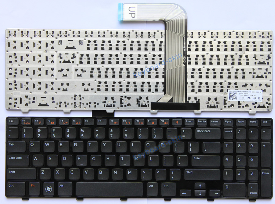 how to clean laptop keyboard dell inspiron n5110