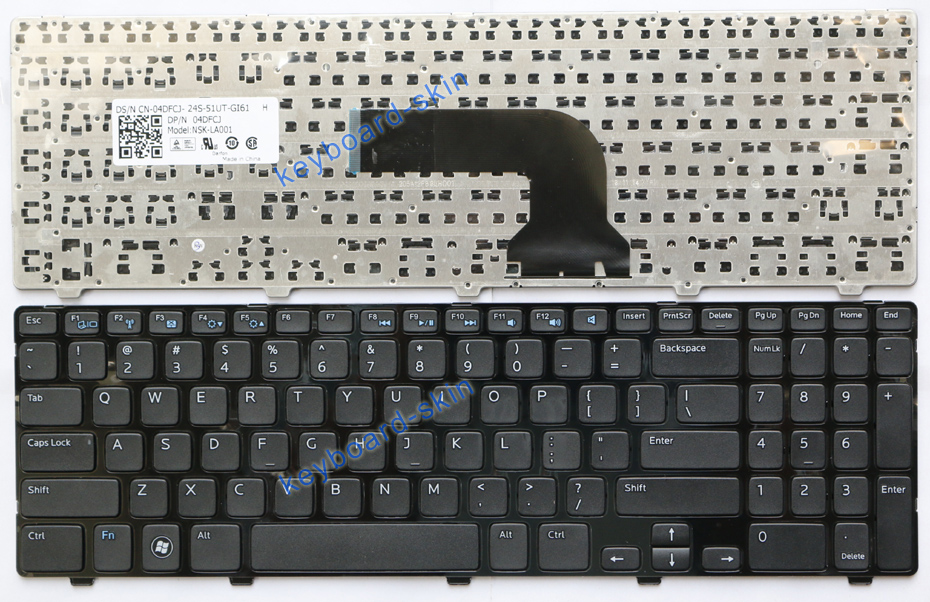 oem new for dell vostro 2521 v2521 series laptop keyboard