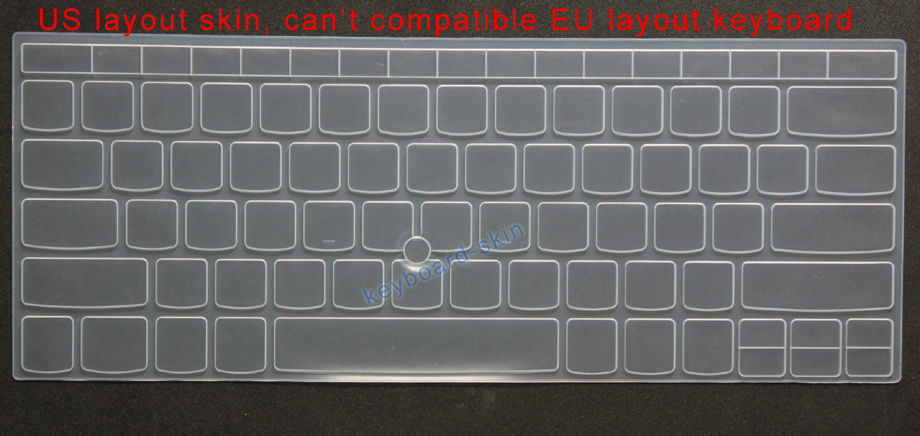 Keyboard Silicone Skin Cover Protector for IBM Lenovo ThinkPad x1 Series Laptop