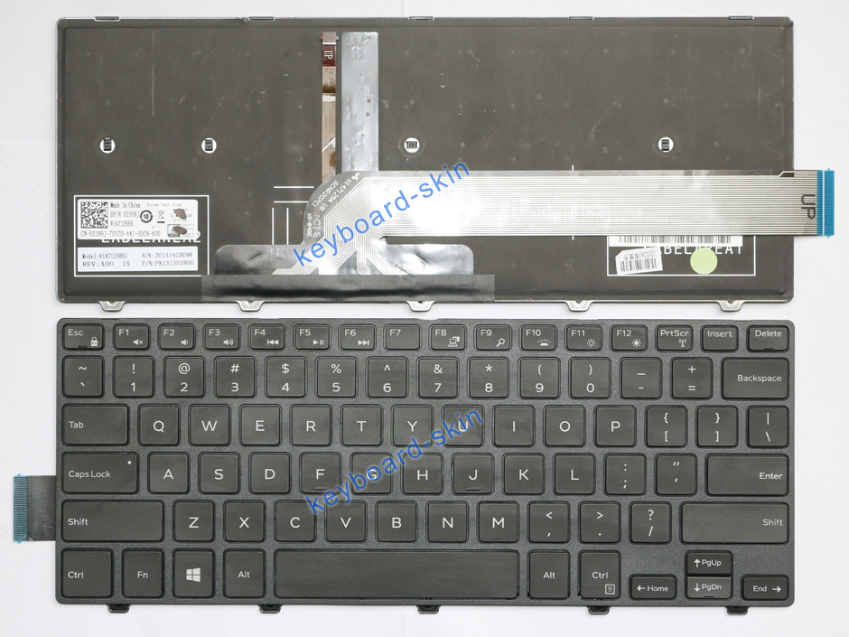 New for Dell Inspiron 14-3000 Laptop Keyboard INS14CD-1328R INS14CD-1316B
