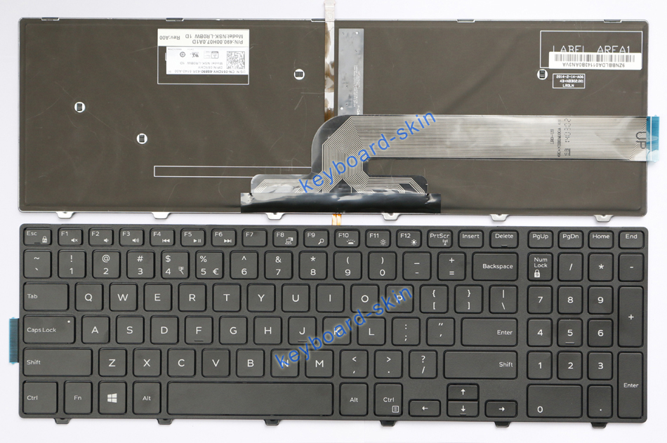 Details about New for Dell Inspiron 15 3000 Series 3541 3542 3551 3558  laptop Keyboard backlit