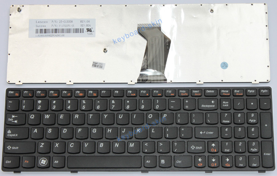 Details about NEW for Lenovo B590 B590A V570 B570 B570G B575 Z570 Z575  Z575A laptop Keyboard