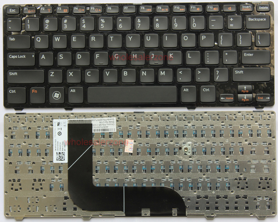 NEW For Dell Inspiron 14Z-5423 1618l 13Z 5323 US Keyboard Frame Replacement